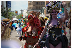 'Girls just wanna have fun...' (Alexxir) Tags: new york gay costumes red two shells white black art hat sunglasses june tattoo hair coneyisland island nose photography big ancient women breasts long day tits eyelashes dress purple lace fishnet jewelry piercing pearls sneakers parade ring transgender lgbt topless huge devil bead mermaid coney lesbians cleavage 18 sequins raven arrangement mythology pasties transsexual pari headwear bustier 2016 bigbust