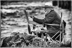 The Artist (kirby126) Tags: the artist whitstable kent canon 6d canon70200f4i