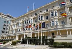 Whitehall Mansions, Ta' Xbiex (RobJH82) Tags: sea summer sun hot island europe mediterranean malta heat taxbiex