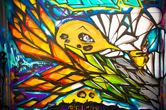 Gone (Thomas Hawk) Tags: sf sanfrancisco california usa america graffiti unitedstates unitedstatesofamerica bayarea mission sfbayarea missiondistrict westcoast