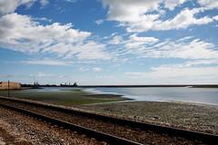 _MG_4549be (Katinka Irrlicht) Tags: portugal faro ship schiff coast railway schienen
