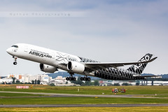 LFPB - Airbus A350-9 (F-WWCF) Airbus Industrie (Aro'Passion) Tags: show paris photography air airbus carbon bourget rotate livery dcollage a350 natw xwb a3509 fwwcf aropassion monteinitiale variopositif