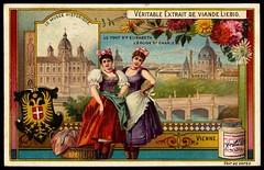 Liebig Tradecard S584 - Vienna (cigcardpix) Tags: tradecards advertising ephemera vintage liebig chromo austria