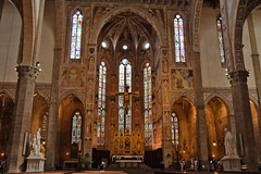 Basilica di Santa Croce, Florence (adelina_tr) Tags: travel italy church architecture florence nikon basilica firenze santacroce d5300