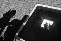 (artigiano) Tags: street shadow people berlin self blackwhite schwarzweiss agfascala200 vsco fujix100t