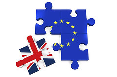 UK to exit the EU: What are tech firms worried about?0 (mohanrajdurairaj) Tags: uk england sign illustration leaving europe symbol render flag puzzle referendum europeanunion isolated voting exitsign jigsawpuzzle partof europeanunionflag threedimensionalshape brexit