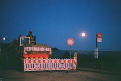 (Kkeina) Tags: sky moon film night analog 35mm 50mm olympus manual om om1