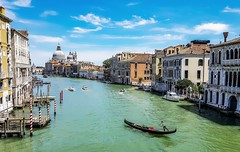 Canaasso (10000 wishes) Tags: venice italy classic beautiful view landmark historical gondola waterway thegrandcanal