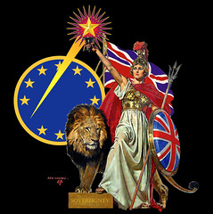 SOVEREIGNTY (The Happy Rower) Tags: uk england june jack star europe european britain flag united union great nation lion eu kingdom restored restoration vote britannia sovereign sovereignty 2016 rexwoods brexit