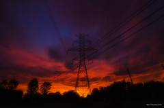 Sunset Colours. LaSalle, ON. (Pat86) Tags: sunset sky colours powerlines lasalle colourful photooftheday