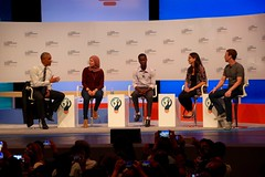 Barack Obama - Global Entrepreneurship Summit 2016 (InPursuingDesign) Tags: google panel president business valley silicon speech obama hbo potus barack entrepreneur zuckerberg ges2016