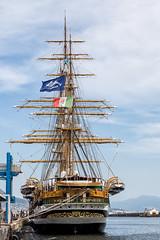 Amerigo Vespucci (lurick.01) Tags: alberi mare nave veliero vespucci vele