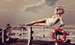 land ahoy (Nish Grey) Tags: secondlife friday prtty mimikri catwa