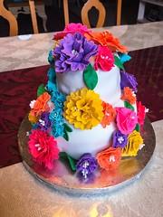 (Phxgirl) Tags: flowers cake fondant gumpaste