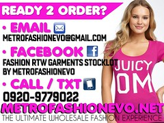 RTW WHOLESALER IMPORTER : METROFASHIONEVO (METROFASHIONEVO.NET) Tags: india fashion out thailand us is other check metro no or philippines go evolution email an online need items rtw bangladesh apparel garments supplier importer baclaran divisoria wholesaler wwwmetrofashionevonet metrofashionevogmailcom divisoriabaclaranstoresopenfordealershipmetrofashionevortwgarments metrofashionevo metrofashionevonet