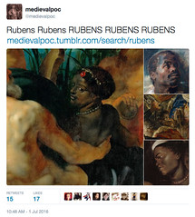 http://medievalpoc.tumblr.com/search/rubens #Rubenesque (medievalpoc) Tags: art paul bacon peter classical rubens rubenesque medievalpoc