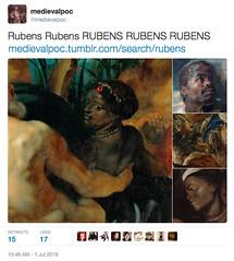 http://medievalpoc.tumblr.com/search/rubens #Rubenesque (medievalpoc) Tags: art paul bacon peter classical rubens rubenesque medievalpoc