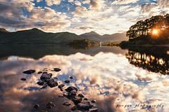 a day's run (paojus) Tags: uk justin sunset lake water nikon unitedkingdom lakedistrict derwentwater nikonstunninggallery paojus paojusalquiza paolojustintalquiza justinalquiza paoloalquiza paolojustinalquiza