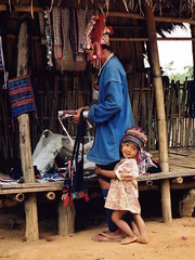 486P - This is MY mummy (foxxyg2) Tags: parents asia families laos donsaoisland