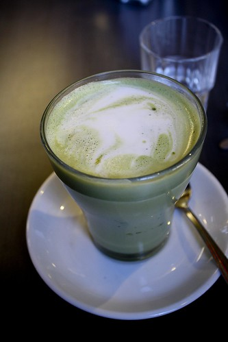 Cafe Essen Green Tea Latte