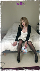 169 (Lily Blinz) Tags: france cute french tv lily cd tgirl transgender tranny transvestite trans trav fr pantyhose crossdresser crossdress ts tg travesti crossdressed collant blinz transgenre