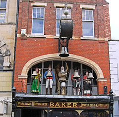Baker The Watchmaker's Shop - Gloucester. (Jim Linwood) Tags: england shop gloucester watchmaker