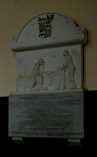 Stanford on Avon, Northamptonshire, monument to Thos. Otway Cave †1830