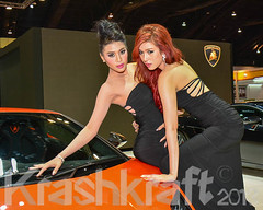 Lamborghini | Bangkok Motor Show 2013 (krashkraft) Tags: coyote beautiful beauty thailand pretty bangkok gorgeous autoshow motorshow racequeen gridgirl boothbabe 2013 krashkraft