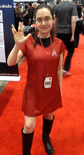 Red Skirt Starfleet Officer