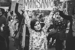 (Crl) Tags: street city against march rally protest australia melbourne cbd gmo swanston monsanto