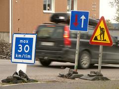 Snel - Fast (naturum) Tags: autumn fall sign geotagged traffic sweden lappland herfst september lapland sverige kiruna bord höst 2012 zweden verkeer norrbotten sapmi sápmi geo:lat=6784845298 geo:lon=2024252415