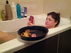 Girl and Meat (Jonathan Harford) Tags: bath meat