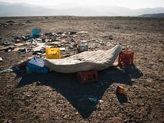 Evidencia #3 (paralau) Tags: landscape dessert garbage atacama desierto cama matress copiapo evidencias