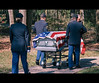 """""""Proper Send Off"""" (Jimtography@yahoo.com) Tags: blue red usa white america freedom flag rip 4th july honor casket american burial soldiers independence veteran fourth"""