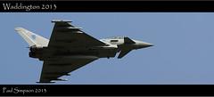Jet Fighter, RAF Waddington 2013 (Paul Simpson Photography) Tags: airplane aircraft jet fast aeroplane airshow photosof imageof photosfrom photoof imagesof imagesfrom sonya77 paulsimpsonphotography waddington2013
