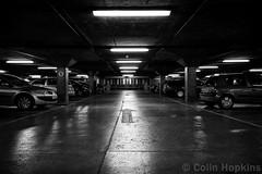 This way... (DurhamOwl) Tags: street city urban monochrome car newcastle town blackwhite tyne vehicle carpark tyneside