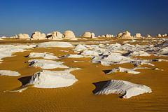 Egypt tourism safari (   ) Tags: africa travel sahara sand village egypt middleeast nobody remote desolate landforms naturalworld rockformation northernafrica whitedesert farafraoasis limestonedeposit libyandesert calcareousdeposit alwadialjadidgovernorate egyptdesertregion