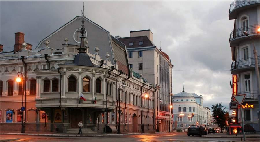 Центр Казани. Фото Шамиля Галимова