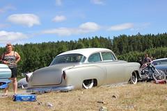 Chevreolet 1954 (Drontfarmaren) Tags: pictures show hot classic cars reunion car vintage gallery power sweden 1954 rod coverage 20 jul bilder strngns galleri chevreolet 2013 malmby drontfarmaren