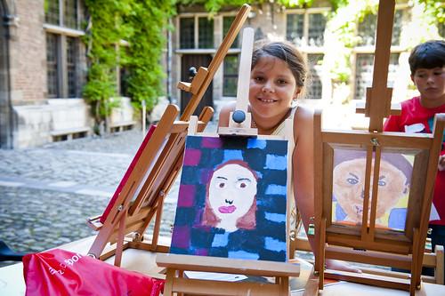 Schilder je eigen portret in het Rubenshuis (c) Noortje Palmers