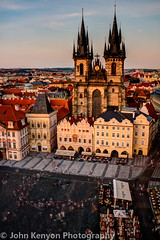 Slo-mo of Prague Old Town Square (johnkenyonphotography@gmail.com) Tags: longexposure travel art beautiful beauty scenery europe prague praha czechrepublic slomo easterneurope centraleurope ndfilter