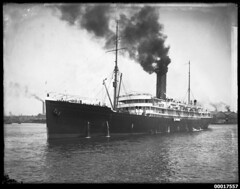 RMS TAHITI in Sydney Harbour