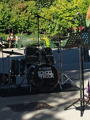 School of Rock Performs (Unionville BIA) Tags: street school camp music ontario canada rock kids live main performance millennium bandstand markham unionville