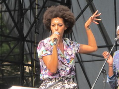 """Solange -  Solange Piaget Knowles (Peter Hutchins) Tags: 2 summer philadelphia festival america franklin day weekend labor sunday september made pa jayz budweiser solange knowles in piaget parkway"""" 2013 """"benjamin"""