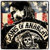 Sons Of Anarchy season 6... welcome back guys!!!! #sonsofanarchy #tvseries #episodes #charming #usa #bikers #motorcycle #club #jacksonteller #usaflag #jax #kurtsutter #harleydavidson #grimreaper #samcro #meth #shakespear #outlaw #season6 #2013 #2014 #sons