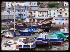 Golden Hind (Nasaw views) Tags: views lazydays brixham sailingvessels brixhamharbour theenglishriviera harbourharbour justboats infamousships torbayacross