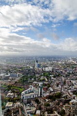 The Shard (robertocatarinicchia) Tags: blackandwhite bw london rain weather clouds nikon technology bbc elements shard itv theshard d7000