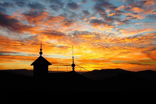 Sunset, Visegrád
