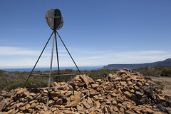 Summit of Mount Brown