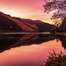 Sunset reflections on Loch Eck
